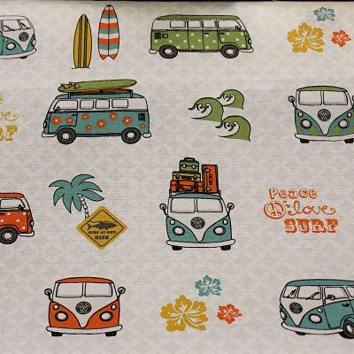 toile-vw-summer-retro-combi-surf-van