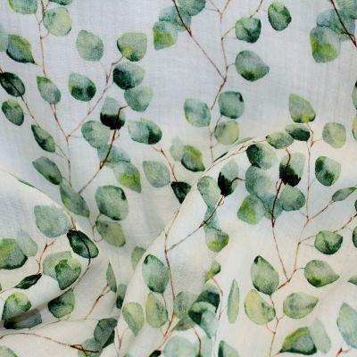 double-gaze-feuille-feuillage-vert-aquarelle-blanc