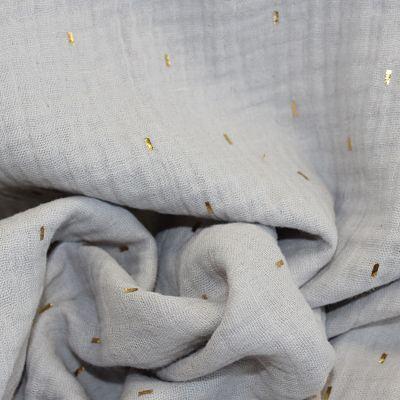 double-gaze-stripes-gris-tiret-or-tissu
