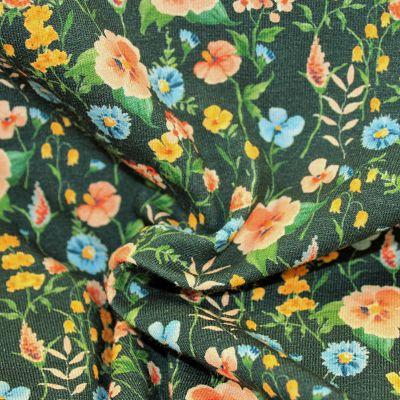 jersey-flower-bio-gots-field-fleurs-vert-tissu