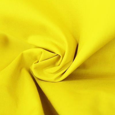 popeline-stretch-jaune-tissu