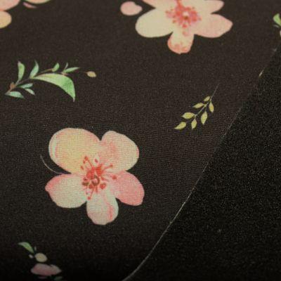 soft-shell-impermeable-cherry-blossom-fleur-noir-manteau-tissu-papa-ours