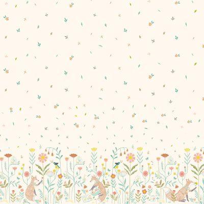 coton-katia-popeline-renard-fleurs
