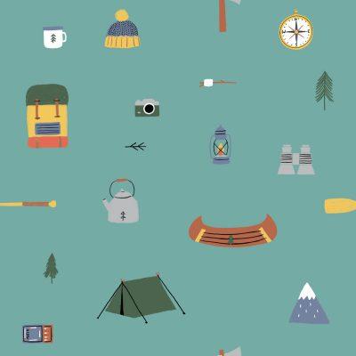 katia-coton-popeline-vert-camping
