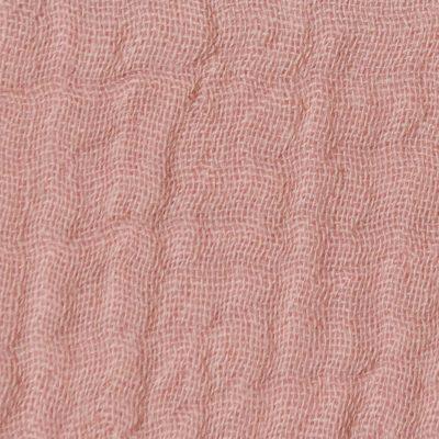 double-gaze-rose-camee-tissu