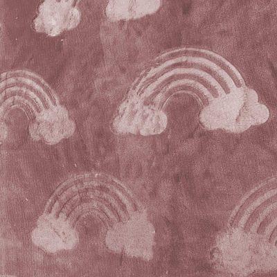 katia-doudou-polaire-rose-nuage-arc-en-ciel-couverture