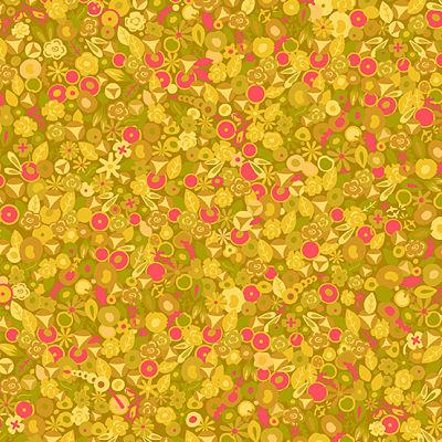 coton-mardi-andover-fabrics-alison-glass-tissu-patchwork-jaune-tournesol